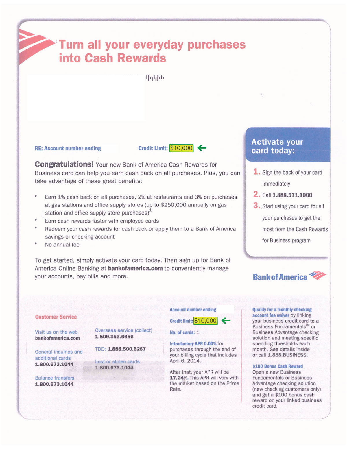 Business credit results biz credit co inc business credit results 10000 bank of america approval approval reheart Choice Image